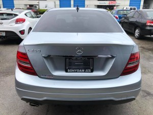 2013 Mercedez Benz C-Class C 250 Sport Sedan 4D Back 01