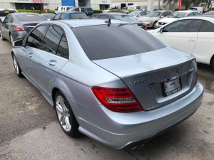 2013 Mercedez Benz C-Class C 250 Sport Sedan 4D Back 02